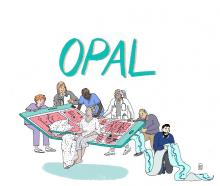OPAL Logo, Illustration: Büke Schwarz